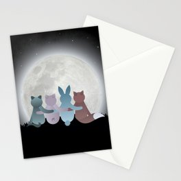 Moon Gathering Stationery Cards