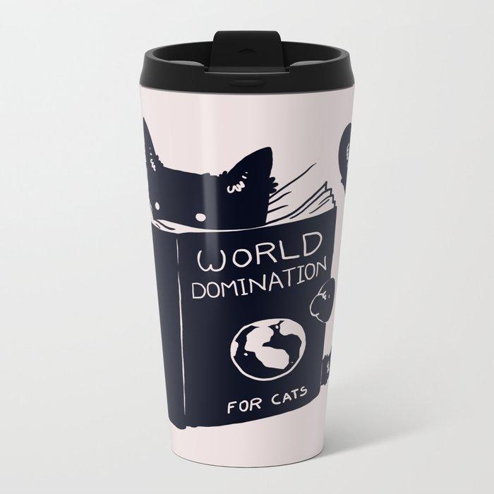 World Domination For Cats Travel Mug