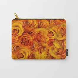 Grenadier Tangerine Roses Carry-All Pouch