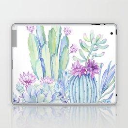 Mixed Cacti White #society6 #buyart Laptop & iPad Skin