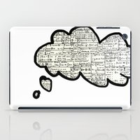 math iPad Cases featuring Math notes by waspdynamics