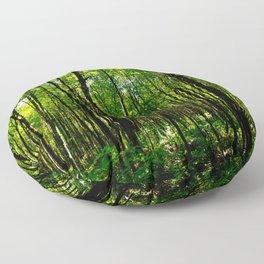 Green breeze Floor Pillow