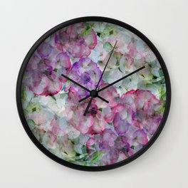Mesmerizing Floral Abstract Wall Clock