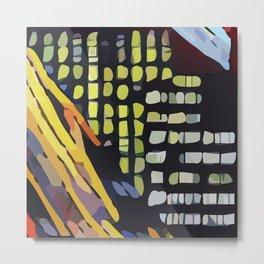 Abstract 100 #5 Metal Print