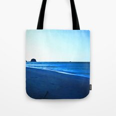 Driftwood on a Beach in the Dying Light Tote Bag