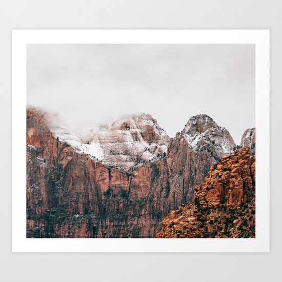 Misty Adventure #society6 Art Print