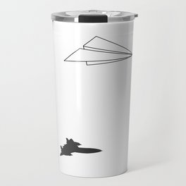 Paper Airplane Dreams Travel Mug