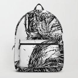 GERONIMO ink portrait.2 Backpack