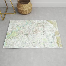 MS Clarksdale 337201 1990 topographic map Rug