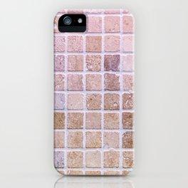 Travertine Squares iPhone Case