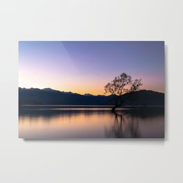 The Famous New Zealand Tree Metal Print