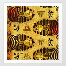 Pharaonic Art Print