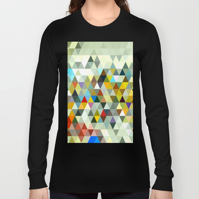 Awesome Triangle Long Sleeve T-shirt