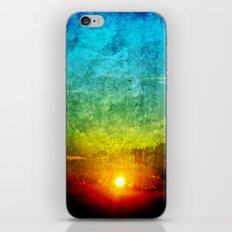 God's Painting iPhone & iPod Skin