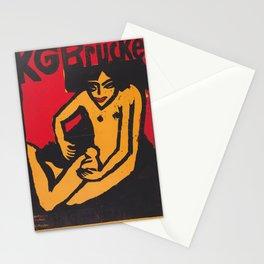 Ernst Ludwig Kirchner - KG Brücke Stationery Cards