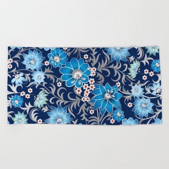 Shabby flowers #25 Beach Towel