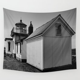 West Point Light Wall Tapestry