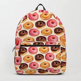 Donut Pattern Backpack