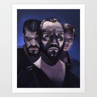 General Zod Art Print