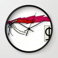 The Mosquito Wall Clock