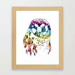 Owl you over Framed Art Print