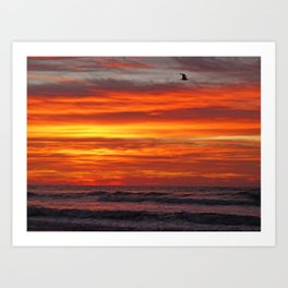 Dawn in Brigantine Art Print