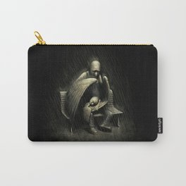 Two Wings and a Prayer Carry-All Pouch