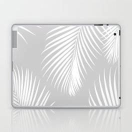 Gray Tropical Pattern Laptop & iPad Skin