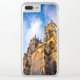 York Minster Cathedral in York, England Clear iPhone Case