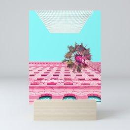 LA Palm Tree Look Up Mini Art Print