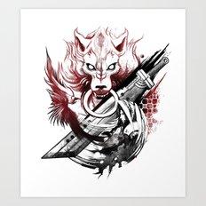 Amano Homage Art Print