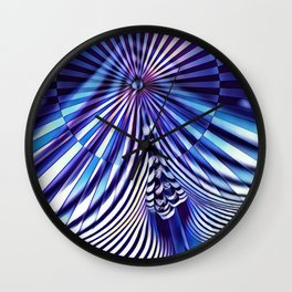 7694s-KMA Abstract Blue Nude Intimate Sexy Hot Wall Clock