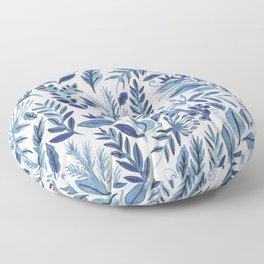indigo scatter Floor Pillow