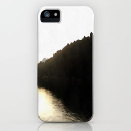 Shores Of Darkness iPhone Case