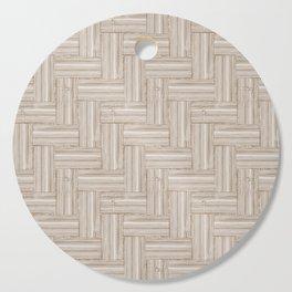Bamboo Woven Pattern Cutting Board