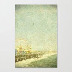 Santa Monica Ferris Wheel Canvas Print