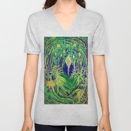 Sativa Dreams Unisex V-Neck