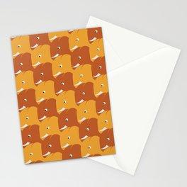 Happy Sunny Elephants Stationery Cards