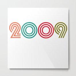 Vintage 1999 birthday birthday idea 20 years Metal Print