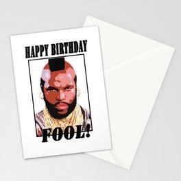 Happy birthday fool Stationery Cards