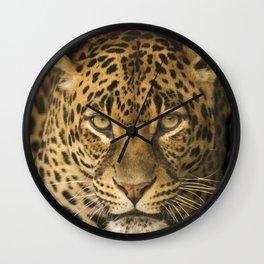 Dangerous leopard Wall Clock