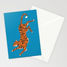 Blue Tiger Stationery Cards
