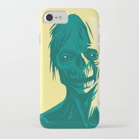 zombie iPhone & iPod Cases featuring Zombie by Jasn