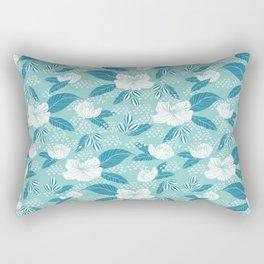 Hibiscus garden Rectangular Pillow