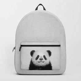 Panda Bear - Black & White Backpack