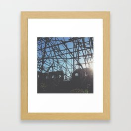 Warehouse Support Framed Art Print