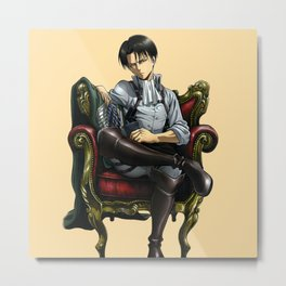 Levi sit down Metal Print