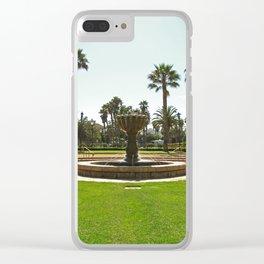 Santa Barbara Fountain 2500 Clear iPhone Case