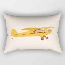 Little Yellow Plane Rectangular Pillow