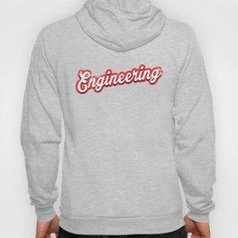 engineering - vintage & distressed Hoody
